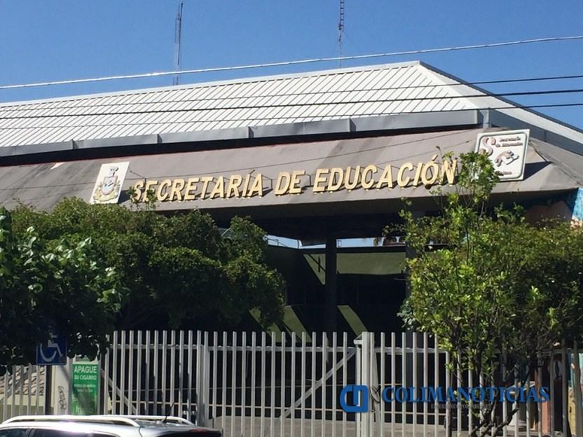 secretaría de educación fachada archivo 2 - En Colima se aplicarán las medidas de la SEP Federal por Covid-19 - #Noticias