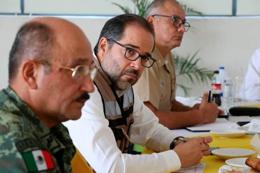 seguridadgobernador - Gobernador pide no bajar la guardia en el combate a la inseguridad