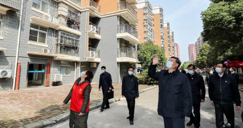 wuhan xi jinping - Las fábricas y negocios de Wuhan reabren sus puertas de a poco; China confía en levantar economía - #Noticias