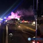 27 choque 1 - Chocan camioneta Nissan X-Terra contra motocicleta en libramiento El Naranjo