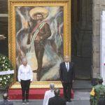AMLO Zapata - Con sana distancia, AMLO rinde homenaje a Emiliano Zapata