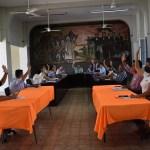 Cabildo Villa de Alvarez - Felipe Cruz agradece al Cabildo respaldo para terrenos para construcción de escuelas en Punta Diamante y La Comarca