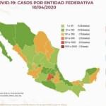 Covid19 10 abril - 233 fallecidos y 3,844 casos positivos por #Covid-19 en #México