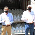 JIPS 1 660x330 - Empresarios colimenses donan alcohol de uso sanitario al Gobierno del Estado – Archivo Digital Colima