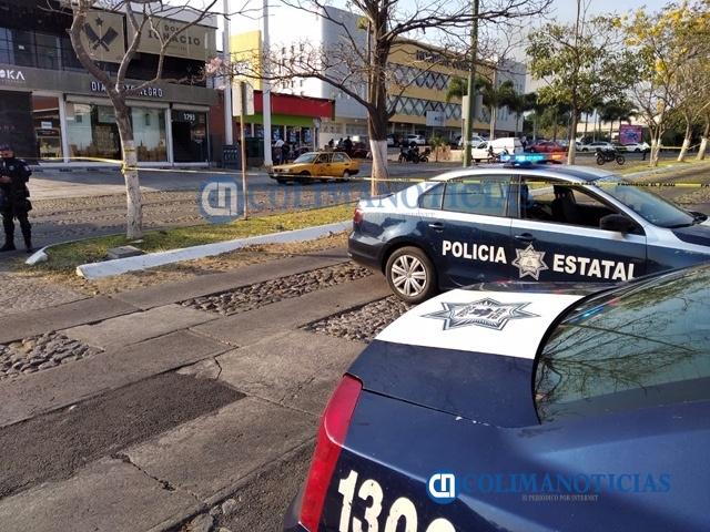 Muerto en Kiosko - A balazos asesinan a un hombre junto a un Kiosko de la Av. Ignacio Sandoval