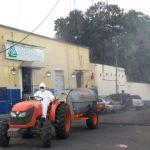 Sanitización Quesería 660x330 - Continúan las acciones de sanitización en Cuauhtémoc para evitar la dispersión del Covid 19 – Archivo Digital Colima