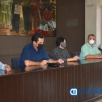 alcaldes en reunión - Gobierno Federal recorta 112 millones de pesos a los 10 Ayuntamientos Colimenses