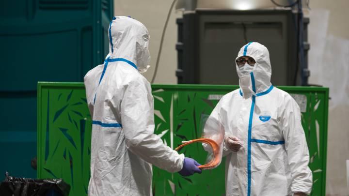 coronavirus españa 1 - Reportan más de 20 mil muertos por Coronavirus en España a cinco semanas de estricto confinamiento