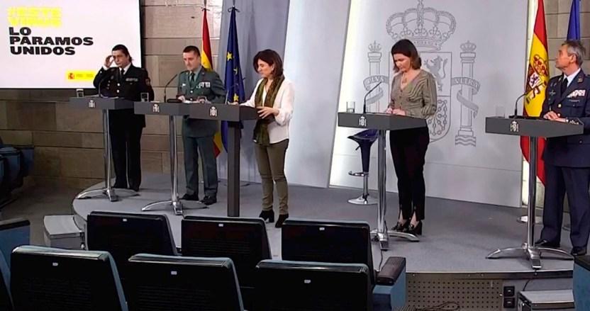espana 3 - España reporta otras 619 muertes por COVID-19; acumula 16,972 decesos y 166,019 contagios