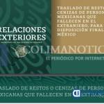 guia SRE traslado de restos - SRE presenta la Guía para el Traslado de Restos o Cenizas de personas mexicanas que fallecen en el extranjero