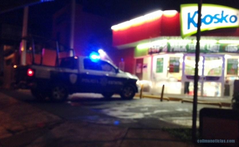 kiosko archivo policia 2 - Reportan asalto a mano armada en tienda Kiosko frente al Hospital Regional Universitario