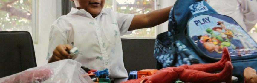 Policía Municipal de Colima recupera tesoro de dos niños - Policía Municipal de Colima, recupera 'tesoro' de dos niños