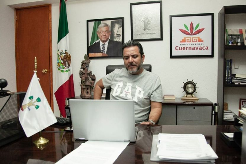 """alcalde cuernavaca - Alcalde de Cuernavaca solicita crédito """"porque no tenemos ni para pagar esta quincena"""""""