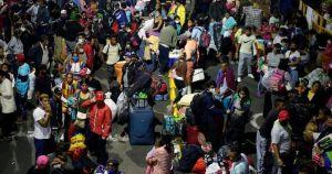 desplazados efe crop1590342464369.jpg 673822677 - Venezolanos desplazados por Suramérica vuelven a su país huyendo del COVID-19