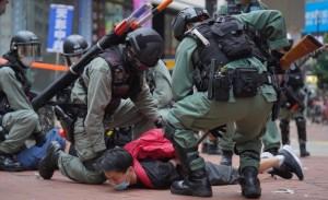 hong kong protestas - Las protestas regresan a Hong Kong contra un proyecto de seguridad; hay 180 detenidos