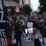 manifestacion madrid - Autoridades de España piden que se respete distanciamiento social luego de protesta en Madrid