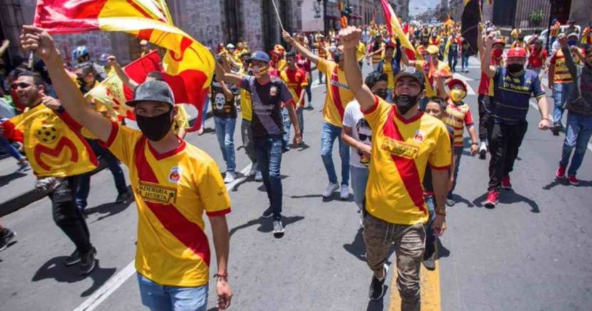 monaras protestas.jpg 673822677 - Aficionados de Monarcas continúan las protestas