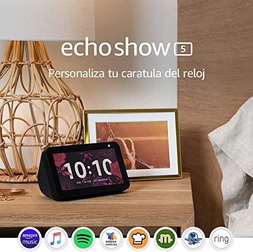 Echo Show 5   Pantalla con Alexa - Negro