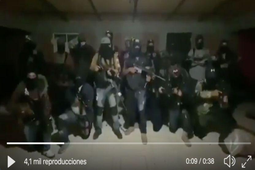 video cjng amenaza con hacer pedacitos a policas y taxistas que apoyen a la familia michoacana - CJNG amplía su presencia en Colombia, importa cocaína y sicarios del país sudamericano