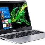 """Acer Aspire 5 Slim - visualización IPS de 15,6"""" (Full HD), Sólo para Notebook, Plateado, 4GB RAM   128GB SSD   Windows 10 in S Mode"""