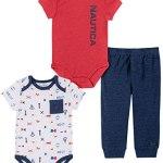 Nautica Sets (KHQ) - Conjunto de Pantalones para bebé y niño