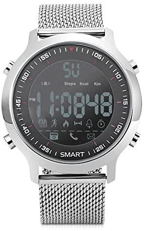 Redlemon Smartwatch Reloj Inteligente Sport con Pantalla Digital, Resistente al Agua, Notificaciones de Llamadas, Redes Sociales y Mensajería, Funciones Deportivas, Podómetro, Hasta 6 Meses de Batería