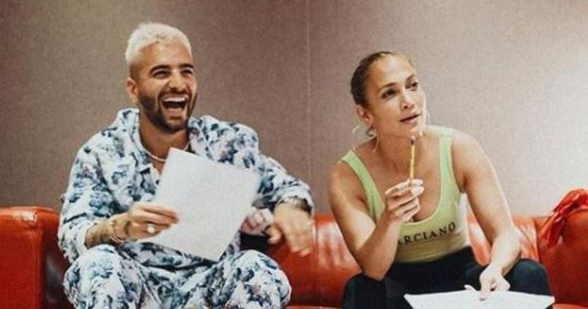a9d023f2 ecf6 4ea7 b050 71b4fa9a3e78 crop1594679477739.jpg 673822677 - Jennifer Lopez y Maluma tendrán nueva colaboración musical