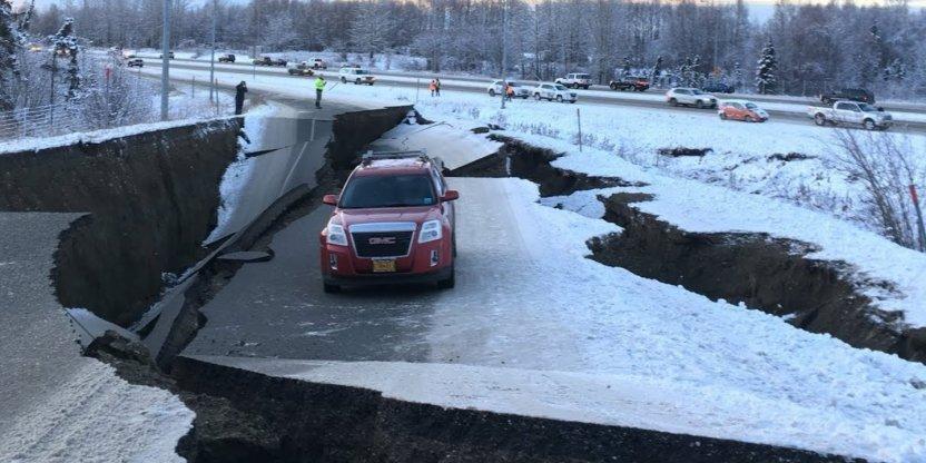 alazka - Terremoto magnitud 7.8 sacude Alaska y activa alerta de tsunami