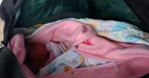 bebe abandonada maleta - Una bebé es abandonada al interior de una maleta en una plaza comercial de Chalco, Edomex