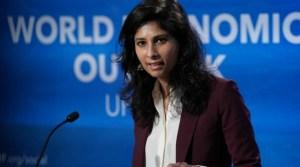 gita gonipath FMI - Varios países requerirán reestructurar su deuda: FMI