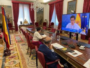 iberoamerica - Dieciocho países de la UE e Iberoamérica acuerdan cooperar contra la pandemia y su impacto