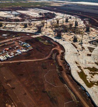 nuevo aeropuerto cdmx acero - Grupo Gilbert gana licitación de 49 mil toneladas del cancelado NAIM
