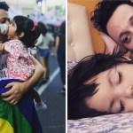 papa8gay3 5 - Uomo single e omosessuale adotta una bambina che viveva da sola in un ospedale. Ora sono una famiglia piena di amore