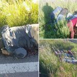FOTOS  Sicarios matan a 7 y tiran los cuerpos cerca de una carretera - FOTOS: Sicarios matan a 7 y tiran los cuerpos cerca de una carretera