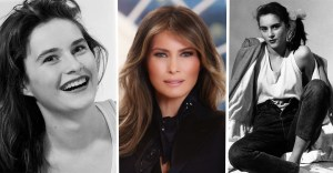 portada melania trump joven - Así posaba Melania Trump como modelo con tan solo 16 años. Su belleza 100% natural destacaba