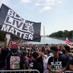 protesta racismo abuso policial Martin Luther King - A 57 años del discurso de Martin Luther King, miles marchan contra el racismo y abuso policial