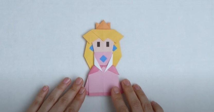"""sin txtulo 1 crop1596352334055.jpg 673822677 - Nintendo te enseña a hacer origami por """"The Origami King"""""""
