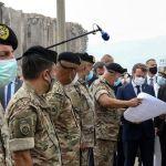 Macron Libano - Líbano: ¿Cómo gobernarse después del desastre?