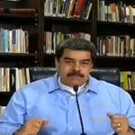 maduro vtv - JAJAJA: Maduro intentó apagar una vela... con el tapabocas puesto (VIDEO)
