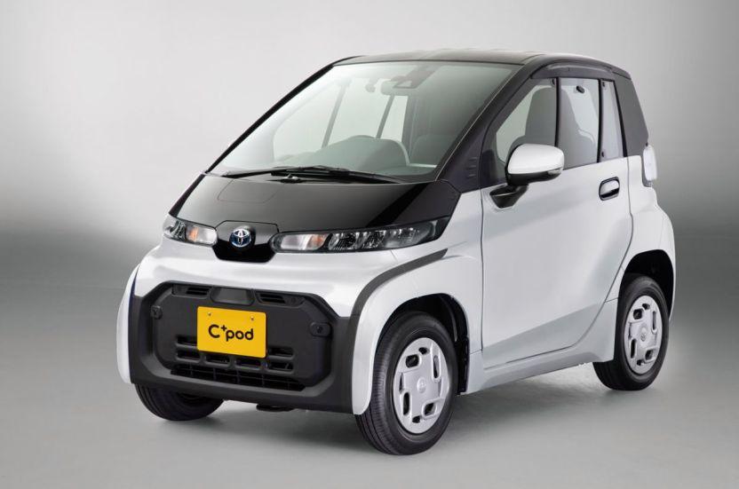 Toyota Cpod 281220 04 - C+pod: el nuevo pequeñín de Toyota