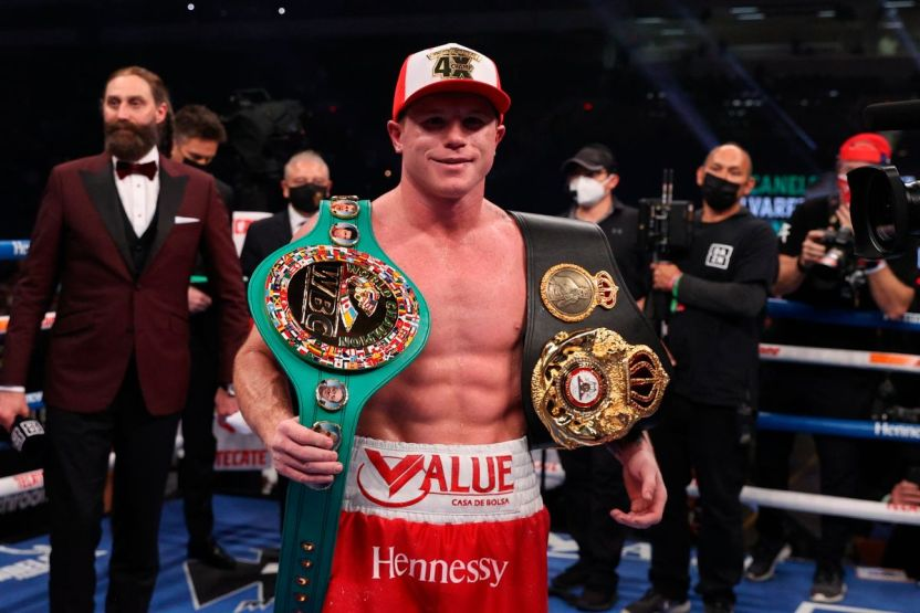 canelo 1220 efe - Con una sola pelea, Canelo está nominado a mejor boxeador del 2020