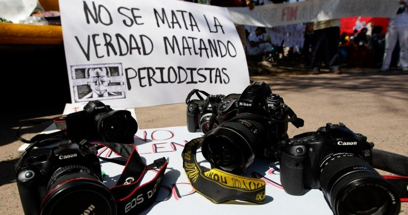 periodistas asesinados - Medios internacionales se unen para exigir justicia por periodistas asesinados en México