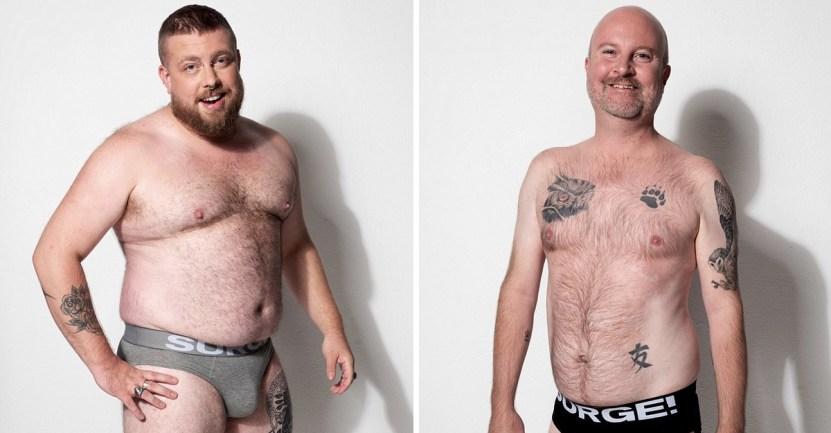surge - Marca de ropa interior masculina optó por modelos comunes y corrientes. Quieren apoyar la diversidad