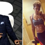 55 willsmith suegra fitness abdominales ejercicio alimento saludable - Suegra de Will Smith luce duro abdomen a sus 67 años. Al parecer el fitness es ley en esa familia