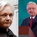AMLO ofrece asilo politico a Julian Assange SRE solicitara indulto a Reino Unido - AMLO ofrece asilo político a Julian Assange; SRE solicitará indulto a Reino Unido