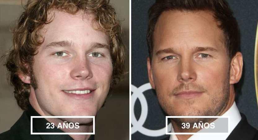 actores guapos - 15 hombres famosos que se ponen más guapos con el tiempo. A Chris Evans la edad le sienta muy bien