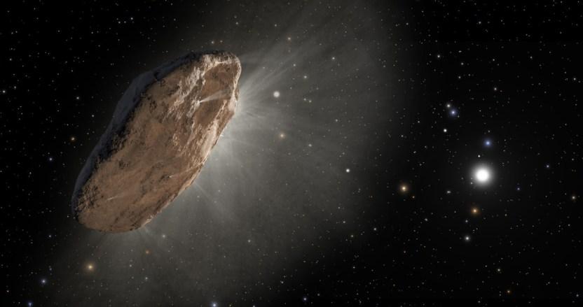 """befunky collage 10 - El asteroide Oumuamua es una """"pieza de tecnología avanzada alienígena"""", asegura astrónomo de Harvard"""