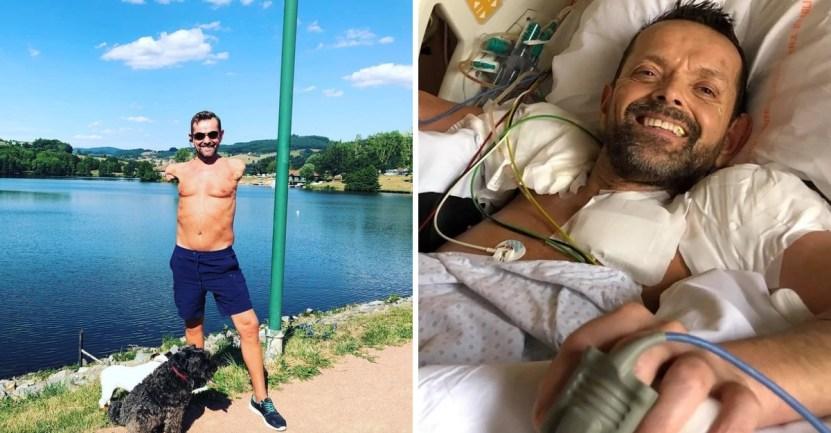brazos trasplante accidente - Es el primero en recibir doble trasplante de brazos y sueña con moverlos. Cada vez está más cerca