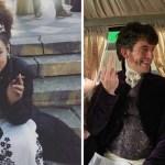 """bridgertone - 45 reveladoras fotos del """"detrás de escena"""" de Bridgerton. """"Daphne"""" odiaba ponerse sus vestidos"""