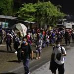 caravana migrantes efe 2 crop1610719638289.jpg 242310155 - Caravana de migrantes hondureños sale rumbo a Estados Unidos